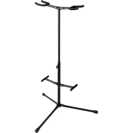 Double Guitar stand GS-7255 on stage