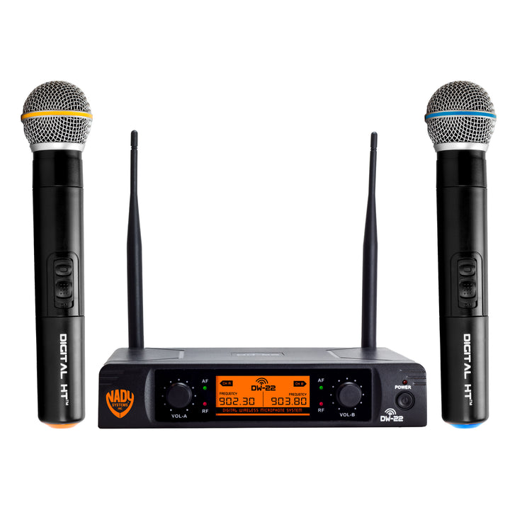 Nady DW-22 Dual Handheld Wireless Microphone System