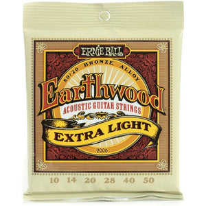 Ernie Ball Earthwood 80/20 Acoustic Guitar Strings
