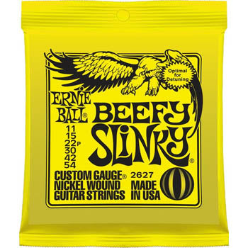 Ernie Ball Beefy Slinky Electric Guitar Strings