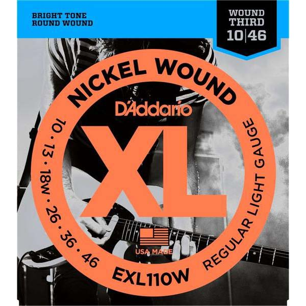 D'Addario EXL110W electric guitar strings