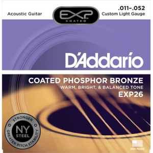 D'Addario EXP Extended Play Guitar Strings Acoustic