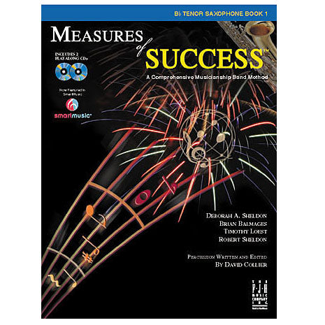 Measures of Success Tenor Saxophone Book 1 or 2
