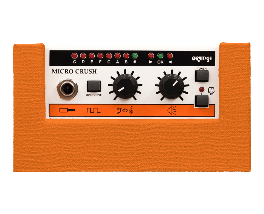 Orange Amplifier Micro Crush 3-Watt Guitar Amp Top