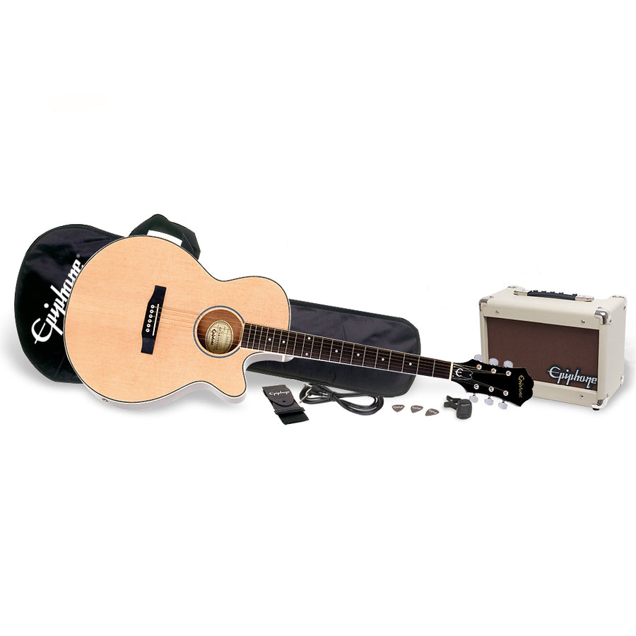 Epiphone PR-4E Acoustic / Electric Guitar Player Pack