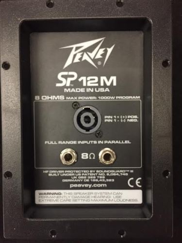peavey-sp12m-crossover-replacement-monitor-speaker