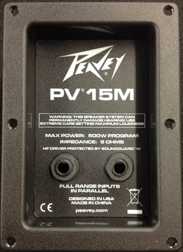 Peavey PV15M Crossover