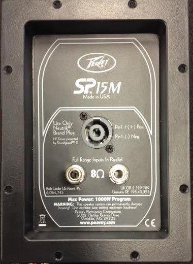 Peavey SP15M Replacement Crossover