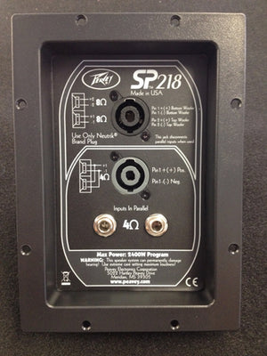 Peavey SP218 Crossover