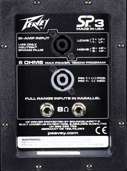 Peavey Replacement Crossover for SP3