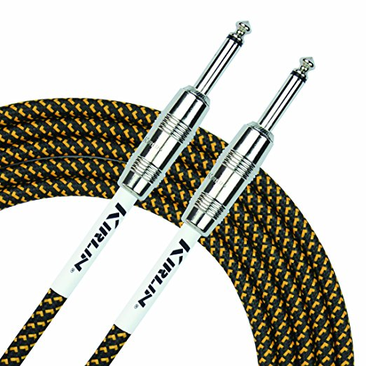 Kirlin IWC-201PN/BY 10' Tweed Instrument Cable