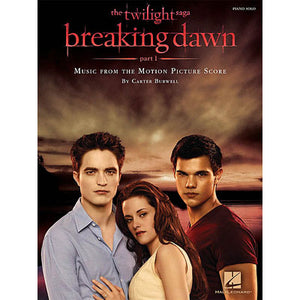 Twilight Breaking Dawn Part 1 Songbook HL00313631