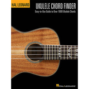 Ukulele Chord Finder Book HL00695803