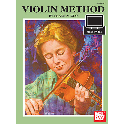 Violin Method Book and Online Video