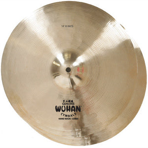 "Wuhan Traditional 14"" Hi-Hat Pair Cymbals WUHH14"