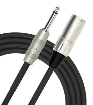 "Kirlin MP-481PR/BK 3ft XLR M to 1/4"" Patch Cable"