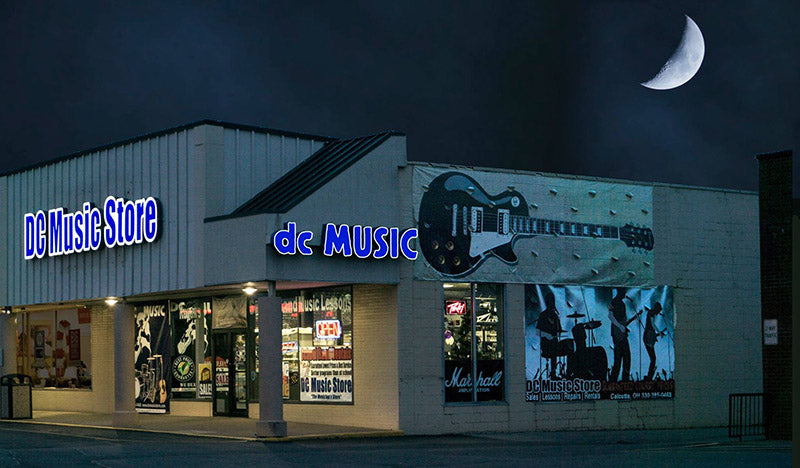 DC Music Store East Liverpool Ohio (aka Calcutta)