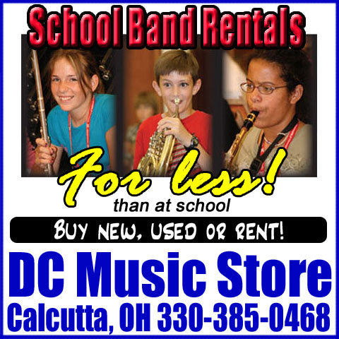 School Band Rentals at DC Music Store