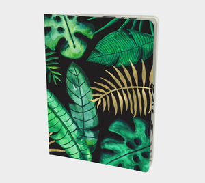 "Tropics in the Dark Notebook - 7.25""x10"""