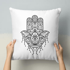 Hamsa Hand Throw Pillows
