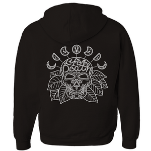 Life & Death Skull Zip-Up Hoodie