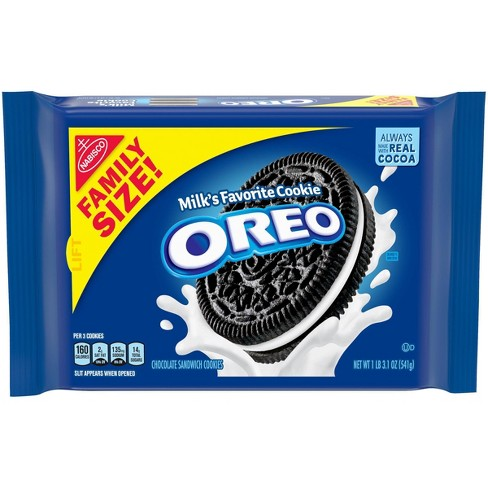 Oreo Chocolate Sandwich Cookies Family Size