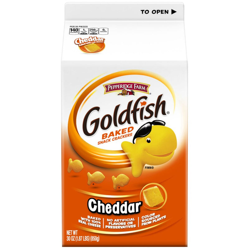 Goldfish Cheddar Baked Snack Crackers - Lagos Groceries