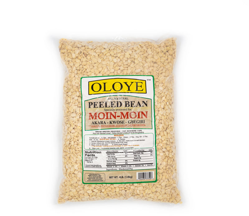 Oloye Peeled Beans (Moin-Moin) - Lagos Groceries