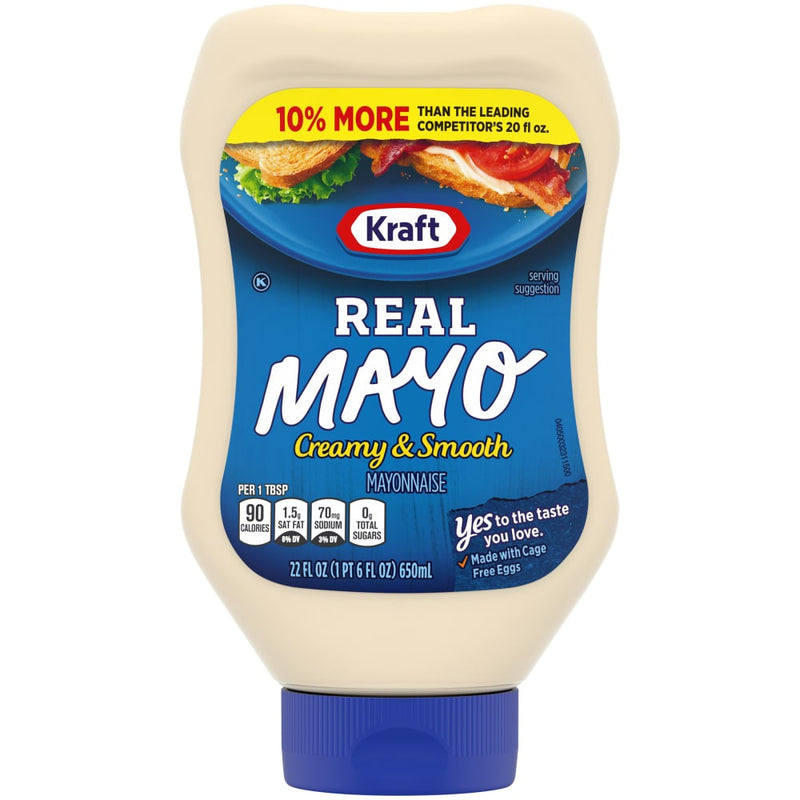 Kraft Real Mayonnaise Squeeze Bottle - Lagos Groceries
