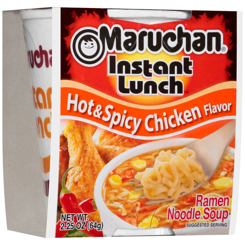 Maruchan Instant Lunch Hot & Spicy Chicken Flavor Ramen Noodle Soup - Lagos Groceries