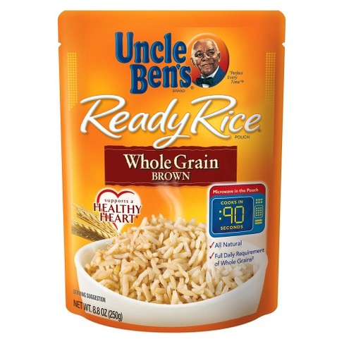 Uncle Ben's Ready Rice Whole Grain Brown Rice