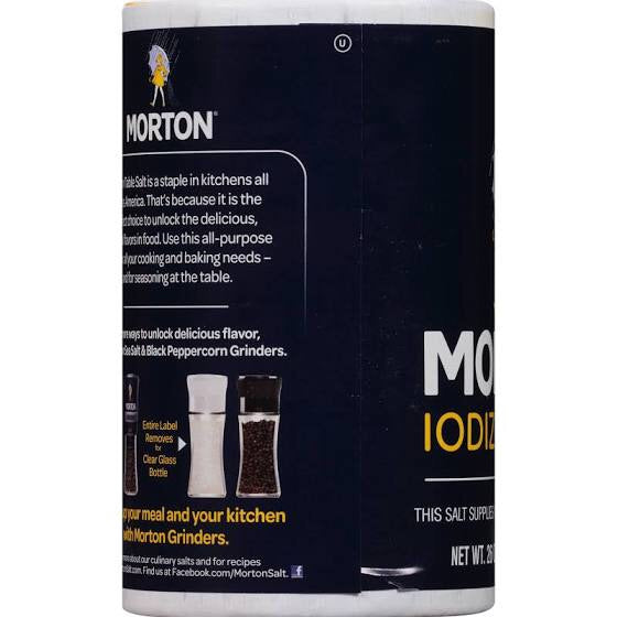 Morton Iodized Salt - Lagos Groceries