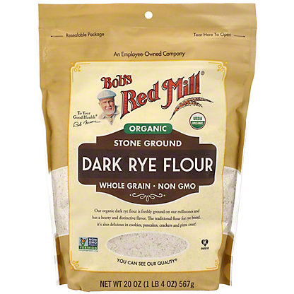 Bobs Red Mill Organic Whole Grain Dark Rye Flour - Lagos Groceries