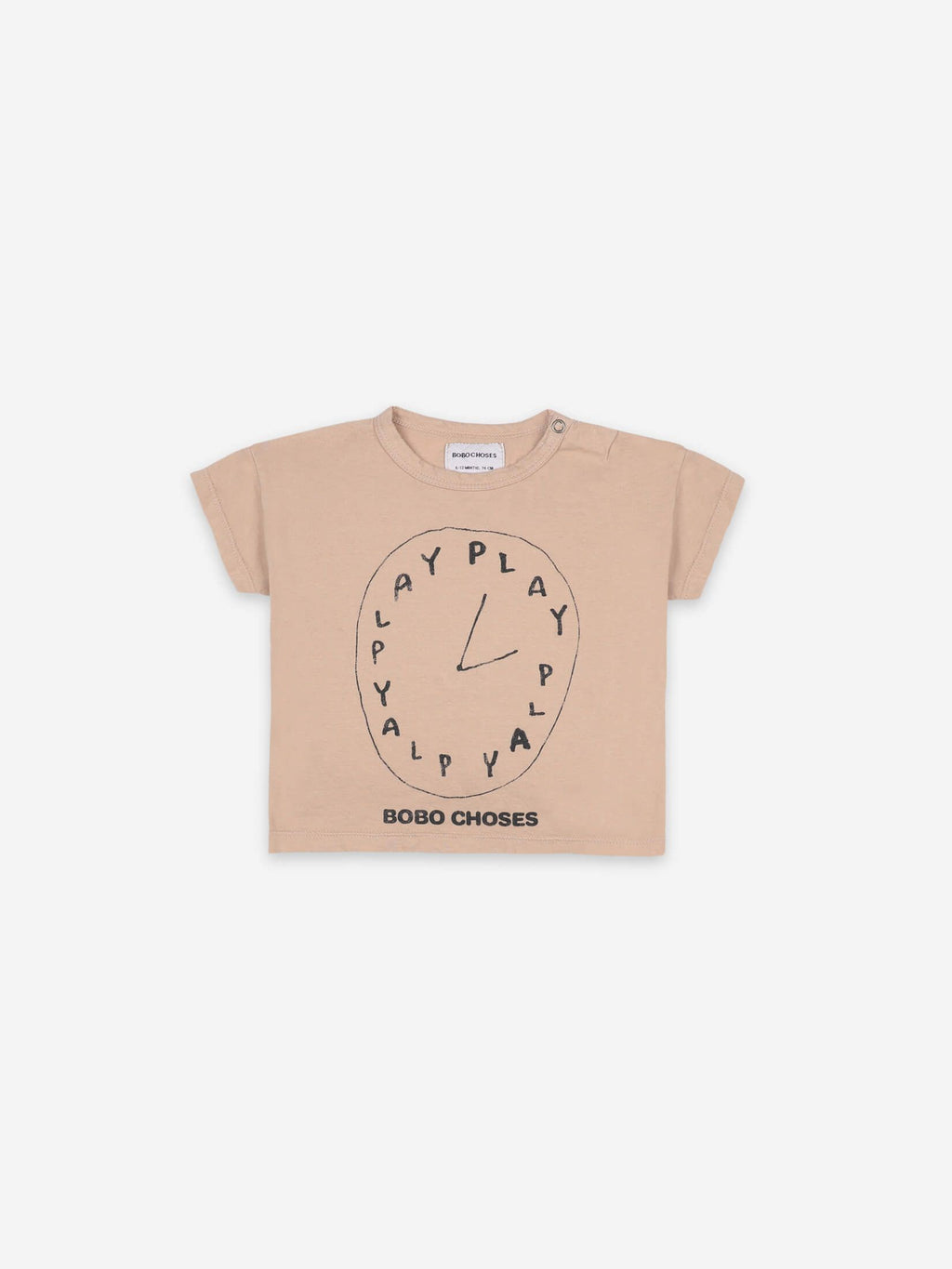 Camiseta bebé play time Bobo choses
