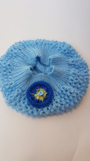 BABY HAT - LIGHT BLUE