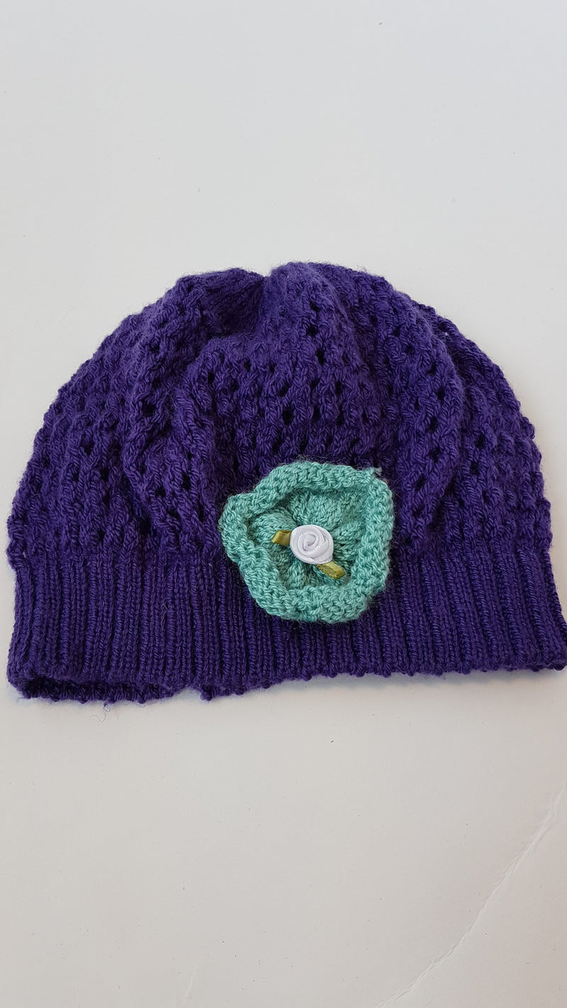 BABY HAT - PURPLE