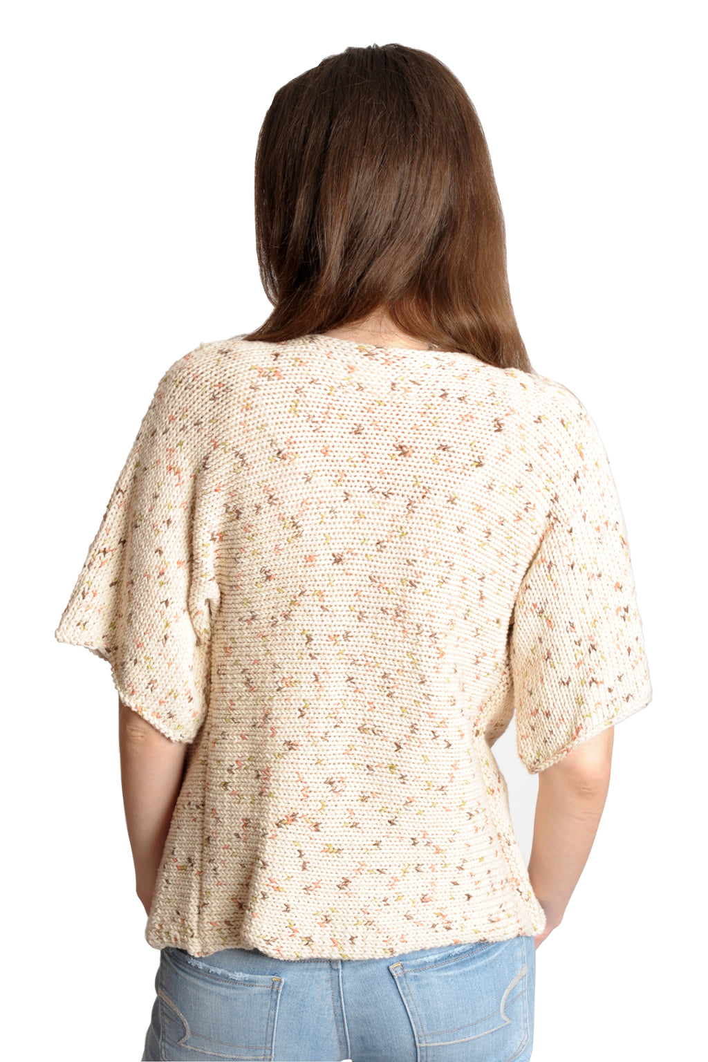 SONOMA PRINT COTTON TWISTER TOP