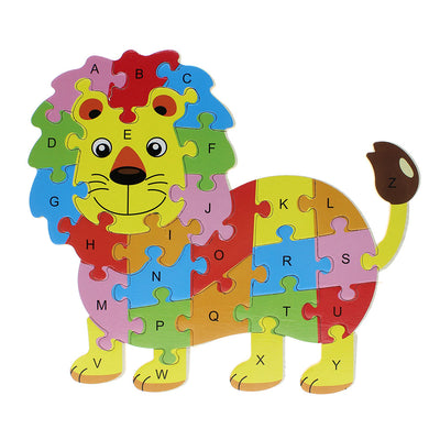 Educational Animal Shaped Alphabetic Puzzle