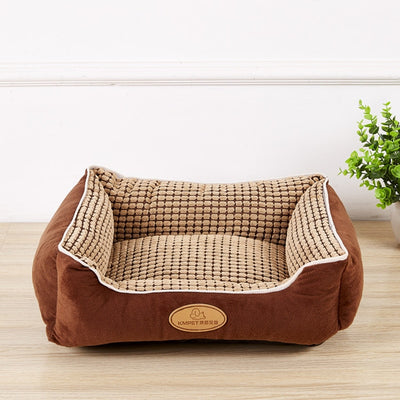 Top Quality Large Breed Dog Bed Sofa Mat House 3 Size Cot Pet Bed House for large dogs Big Blanket Cushion Basket Supplies Pd292