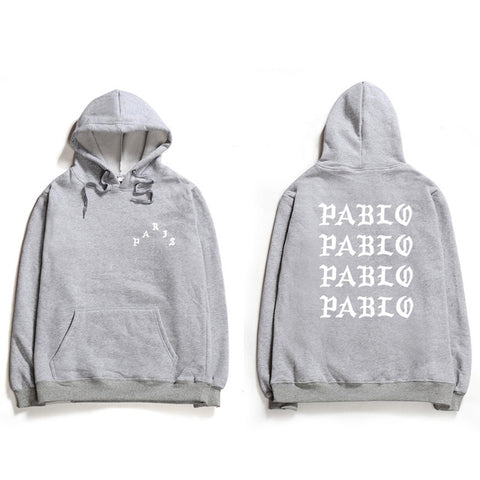 """I Feel Like Pablo"" hoodies"