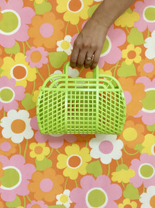 Jelly Purse (Kids Size) — Lime Green