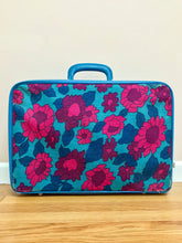 Load image into Gallery viewer, Flower Power Suitcase