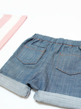 Load image into Gallery viewer, Unisex Faux Jean Shorts - joonbird