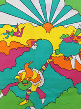 Load image into Gallery viewer, Rare Peter Max Vintage Fabric Panel