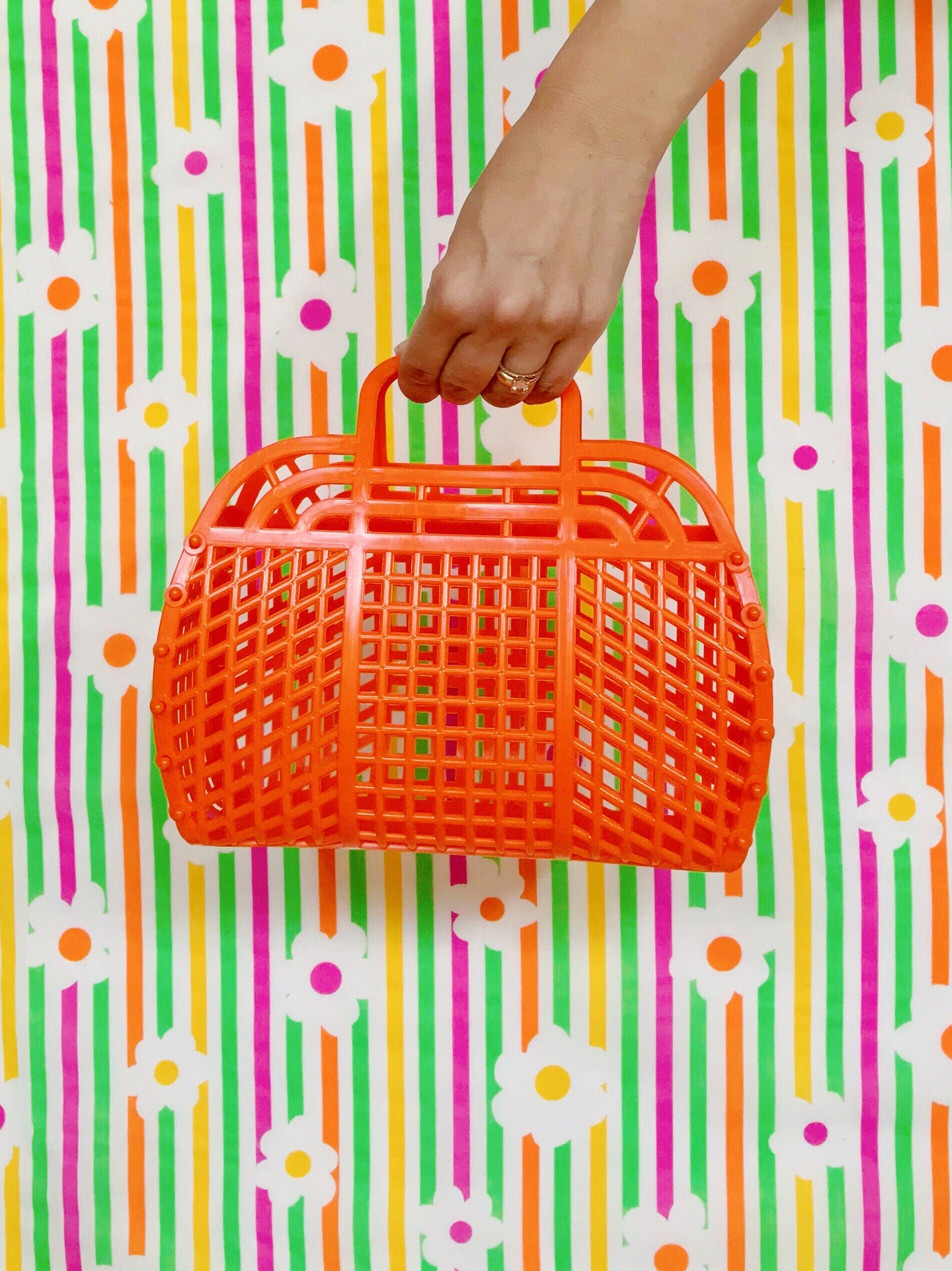 Jelly Purse (Kids size) — Tangerine