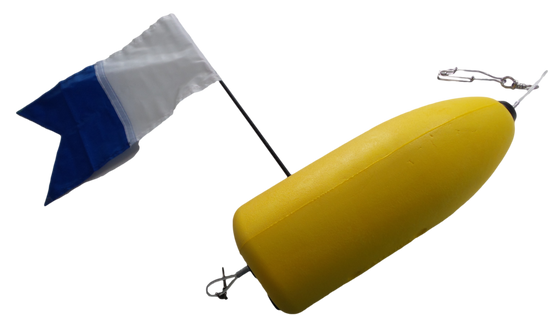 OBD Tough Reef Spearfishing Float With Flag & Weight