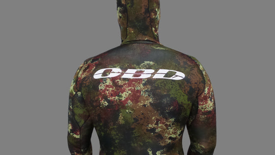 OBD Rocky Reef Camo Wetsuit 3mm