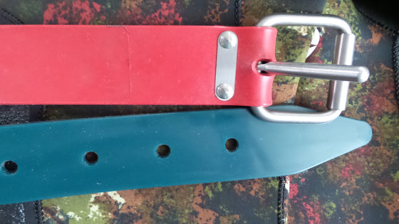 OBD Ultimate Marseilles Weight Belt - Coloured Silicone