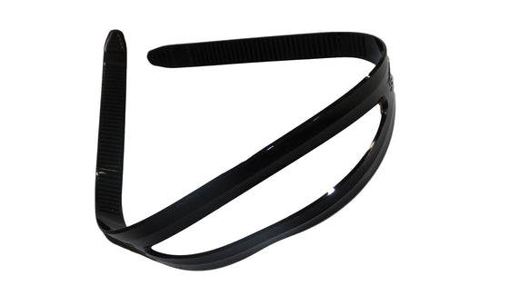 Silicone Mask Strap - Black 16mm