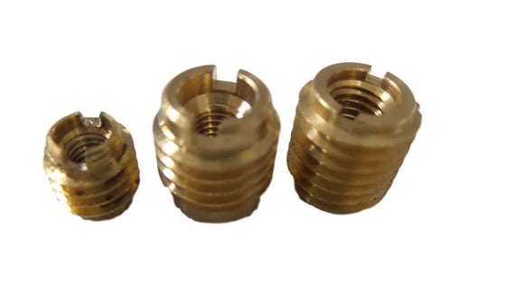 OBD Wood Anchor Fitting - Threaded Brass